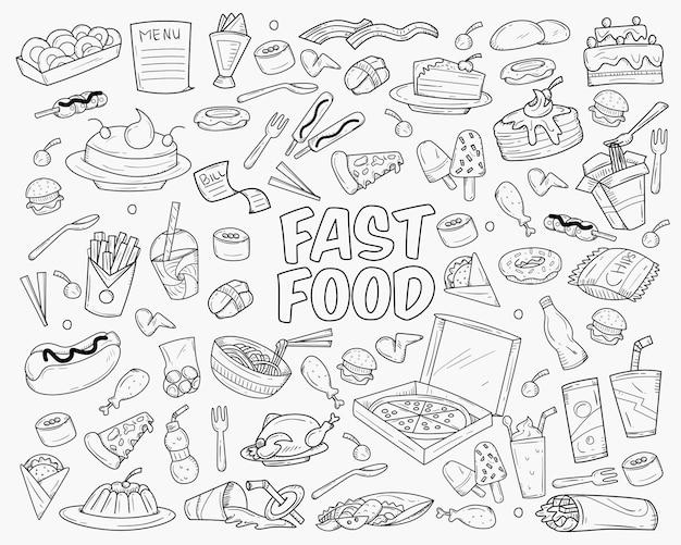 Fast-food-doodle