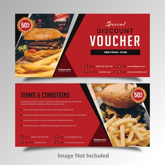 Fast food gutschein discount card