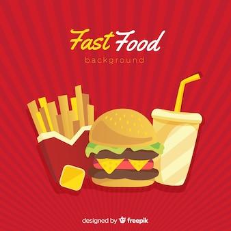 Fast-food-hintergrund