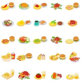 Fast-food-icon-set