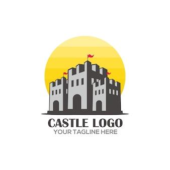 Fast-food-logo-konzept