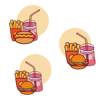 Fast food mit combos