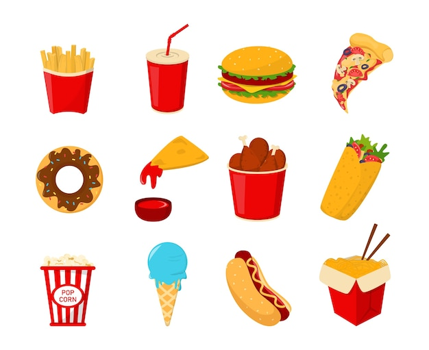 Fast-food-sammlung