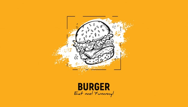 Fast-food-skizze