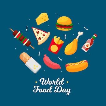 Fast-food-weltnahrungsmittel-tag