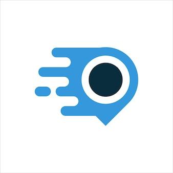 Fast point logo-design
