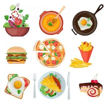Fastfood-sammlung