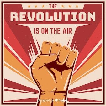 Faust für die revolution erhoben
