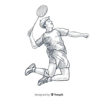 Federballspieler