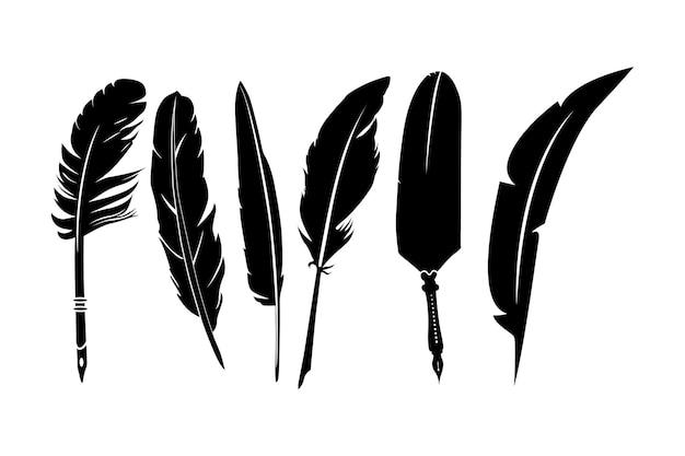 Federkiel silhouette set design inspiration