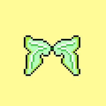 Feenflügel mit pixel-art-stil