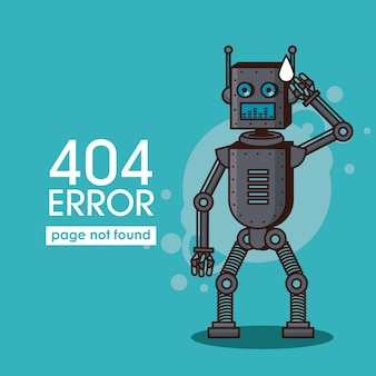 Fehler 404 roboter stil