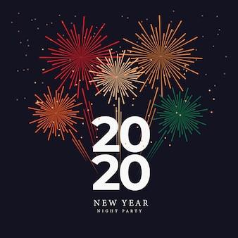 Feier silvester party nacht 2020