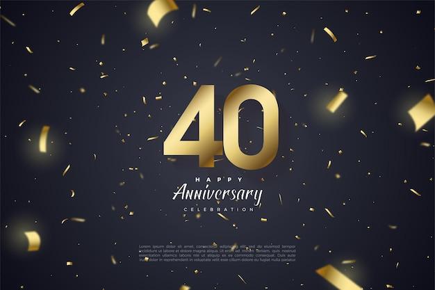 Feier zum 40-jährigen jubiläum.