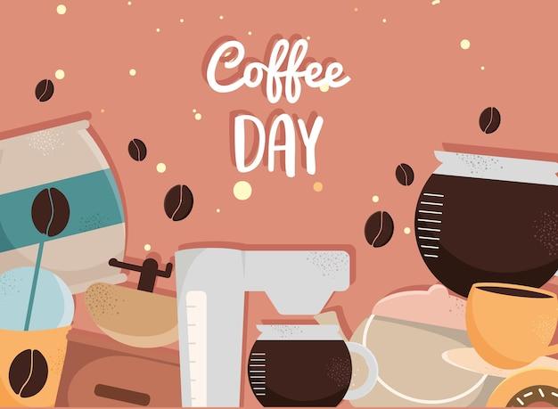 Feier zum kaffeetag