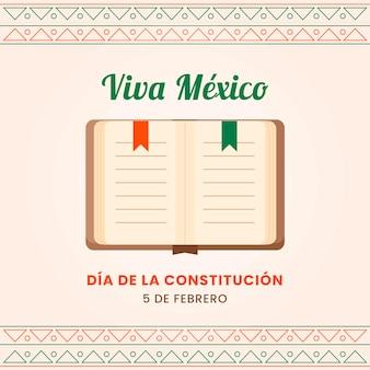Feier zum mexikanischen verfassungstag