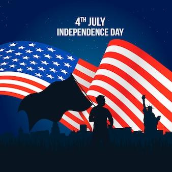 Feier zum unabhängigkeitstag