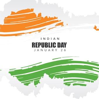 Feierlichkeiten zum unabhängigkeitstag indiens und zum tag der republik