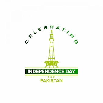 Feiern sie den unabhängigkeitstag pakistans