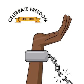 Feiern sie die freiheit