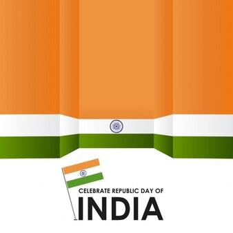 Feiern sie tag der republik indien