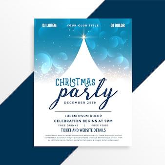 Feierparty-fliegerdesign der frohen weihnachten