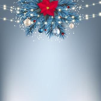 Feiertag neujahr und frohe weihnachten hintergrund.