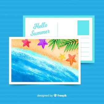 Feiertagspostkarte
