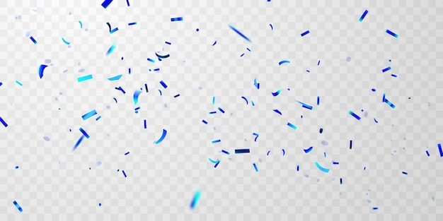 Feiervorlage mit konfetti