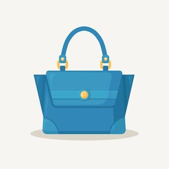 Feminine handtasche zum einkaufen, reisen, urlaub.
