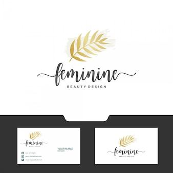 Feminines logo-design
