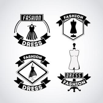 Feminines modedesign