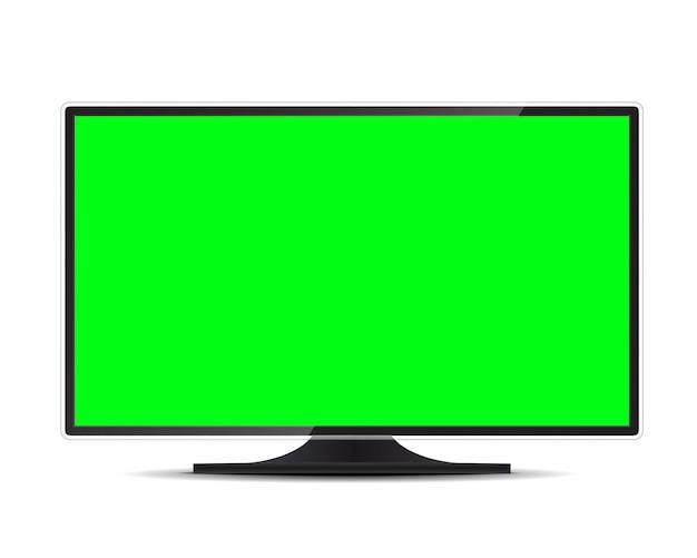 Fernsehbildschirm, lcd-panel, computermonitoranzeige.