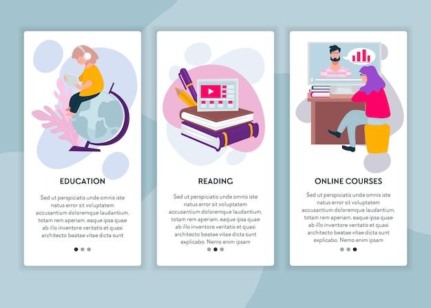 Fernunterricht online, lesen und bestehen von kursen im internet