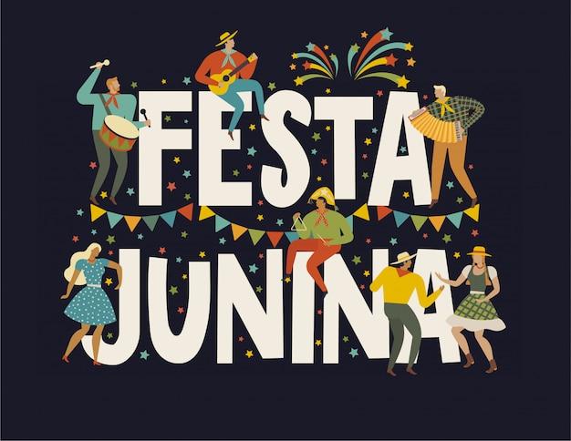 Festa junina brasilien juni festival.