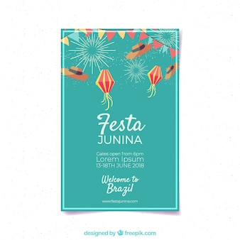 Festa junina cover vorlage