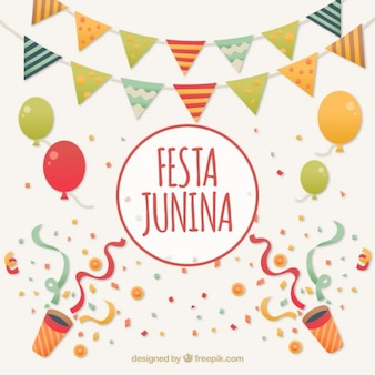 Festa junina feier hintergrund