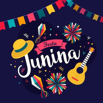 Festa junina feierkonzept