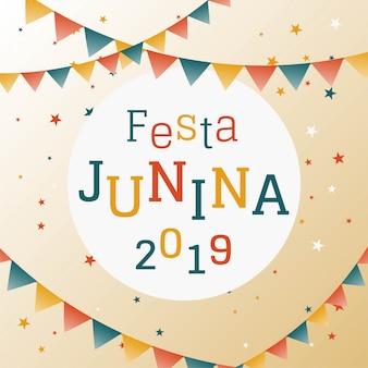 Festa junina hintergrund