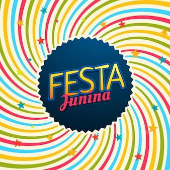 Festa junina karneval illustration