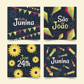 Festa junina kartensammlung