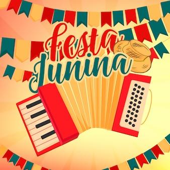 Festa junina modell