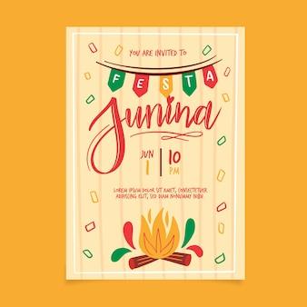 Festa junina plakat