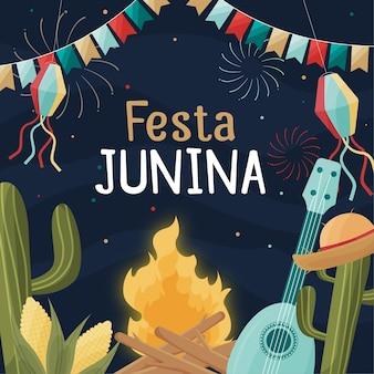 Festes design festa junina ereignis