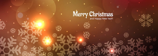Festivalfahnen-schablonenvektor der frohen weihnachten bunter