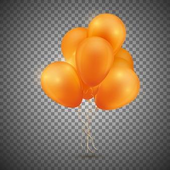Festliche ballonpackung.