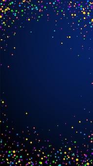 Festliche bizarre konfetti