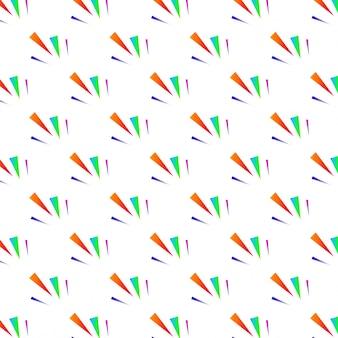 Festliche bunte dreieck konfetti hintergrund vektor-illustration für die dekoration der feiertage postkarten poster websites karneval geburtstag und kinder parteien