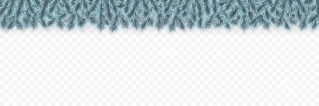 Festliche weihnachts- oder neujahrsgirlande