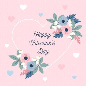 Festlicher valentinstaghintergrund